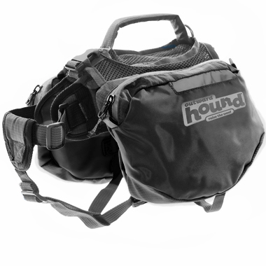 Outward Hound Quick Release Dog Backpack Black - Medium from EntirelyPets