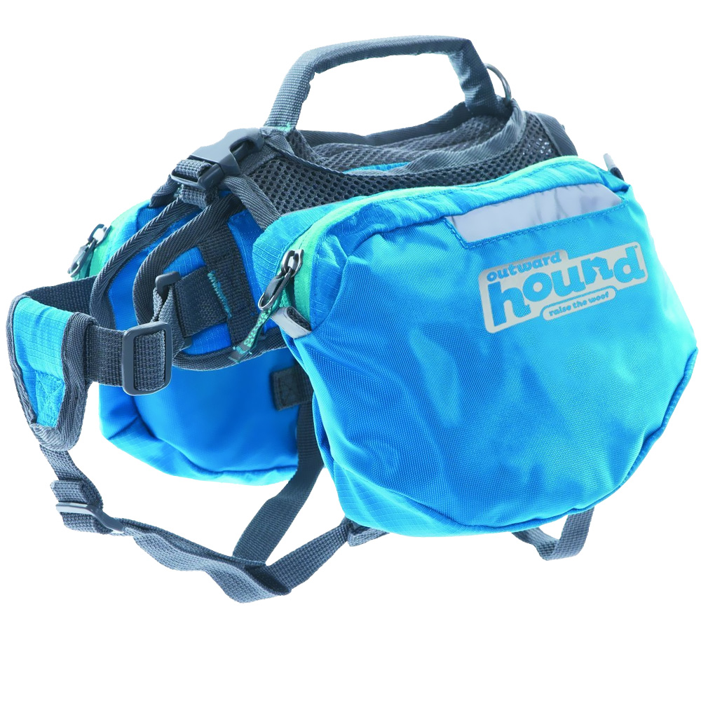 Outward Hound Quick Release Dog Backpack Blue - Large from EntirelyPets