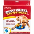 Outward Hound Treat Wheel Dog Toy Puzzle