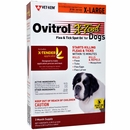Ovitrol X-Tend Flea & Tick Spot On for XLarge Dogs (81 lbs and over) - 3 MONTH
