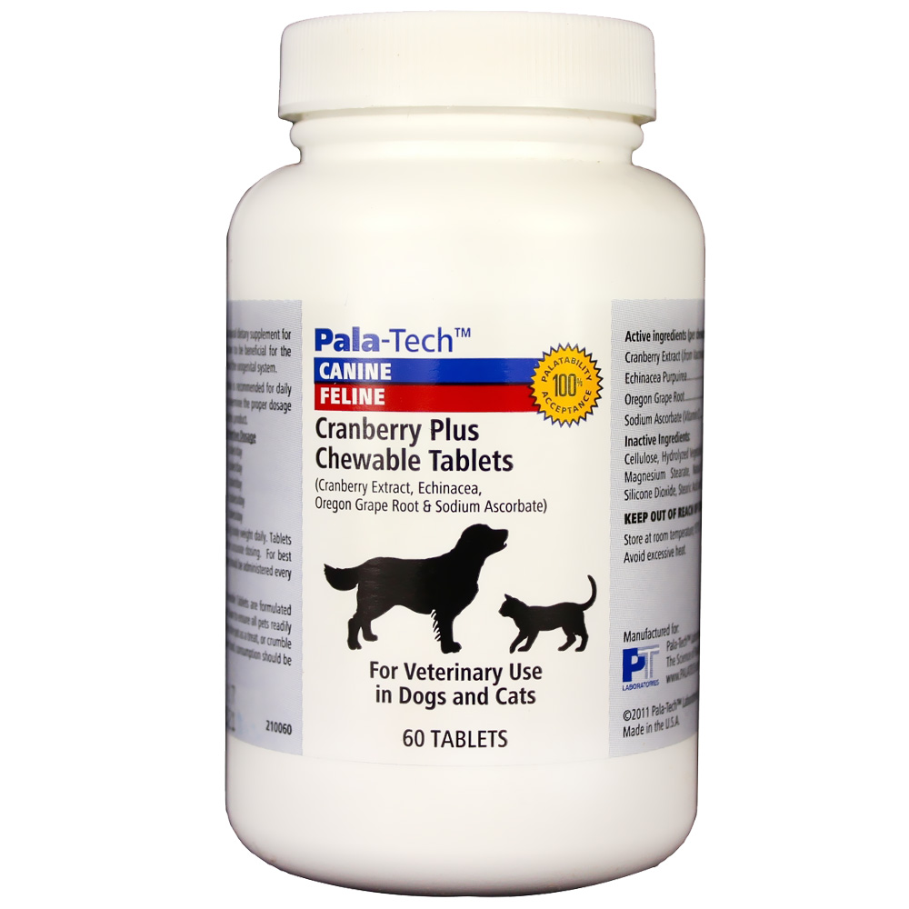 Pala-Tech Cranberry Plus Chewable Tablets (60 tabs) im test