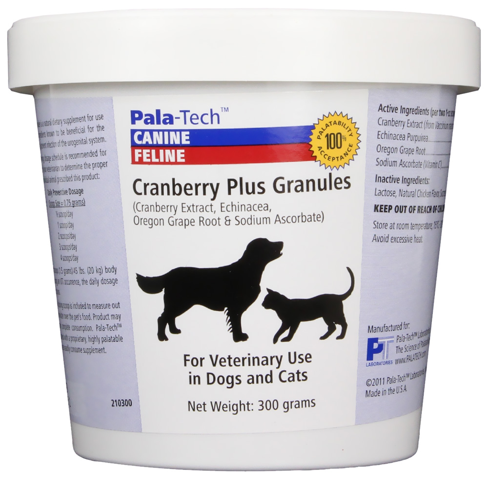 Pala-Tech Cranberry Plus Granules (300 gm) im test