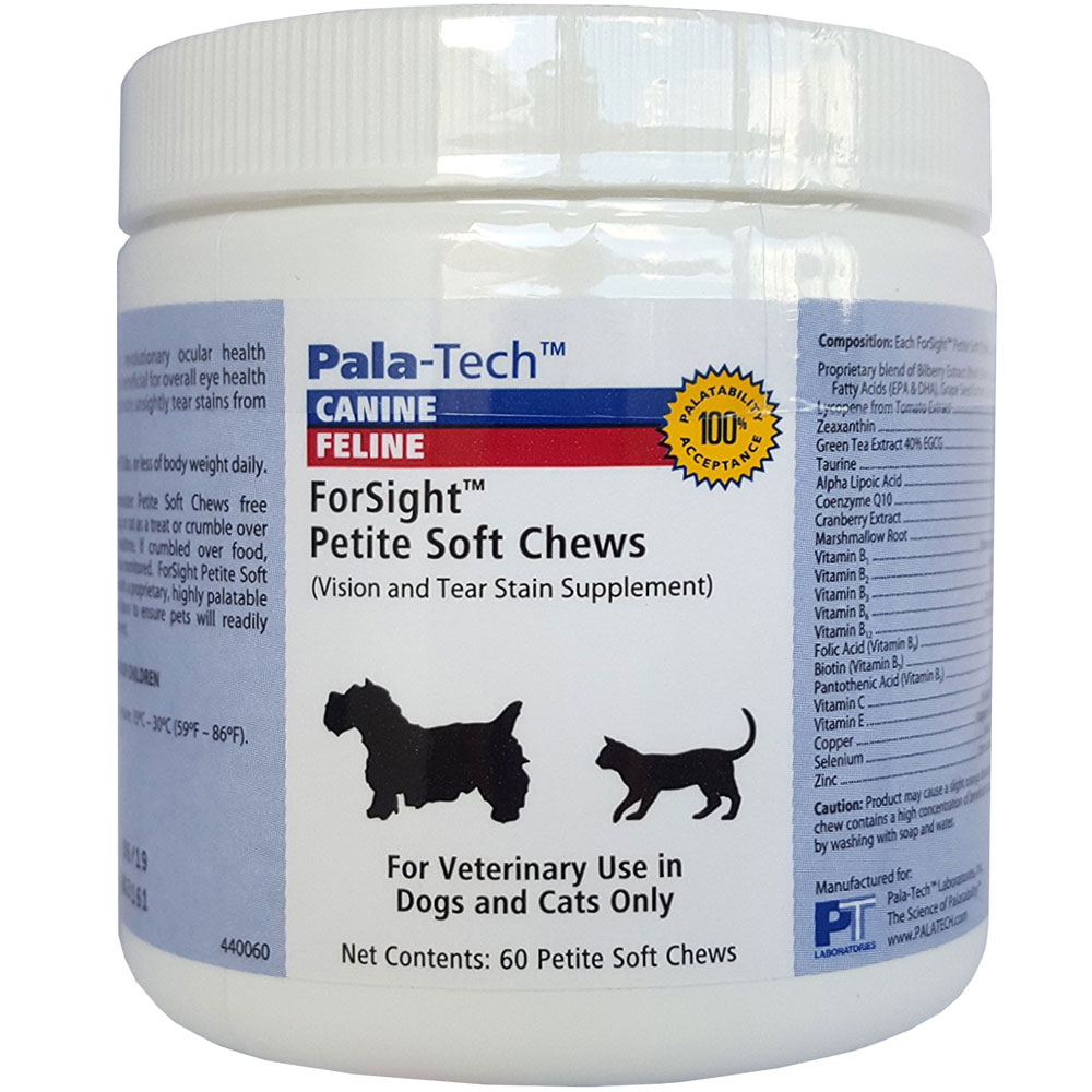Pala-Tech ForSight Petite Soft Chews for Cats & Small Dogs (60 count) im test
