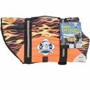 Paws Aboard Pet Life Jacket - Racing Flames (Small)