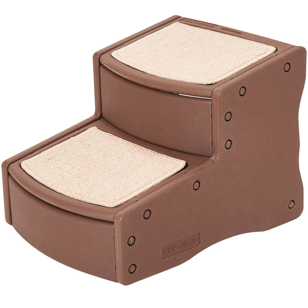 Pet Gear Easy Step II Pet Stairs - Chocolate - For Dogs - from EntirelyPets