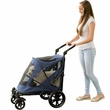 Pet Gear Excursion No-Zip Pet Stroller - Midnight Blue