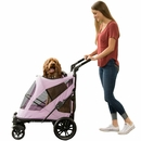 Pet Gear Excursion No-Zip Pet Stroller - Mountain Lilac