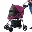 Pet Gear Happy Trails Lite No-Zip Pet Stroller - Boysenberry