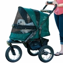 Pet Gear Jogger No-Zip Stroller - Forest Green