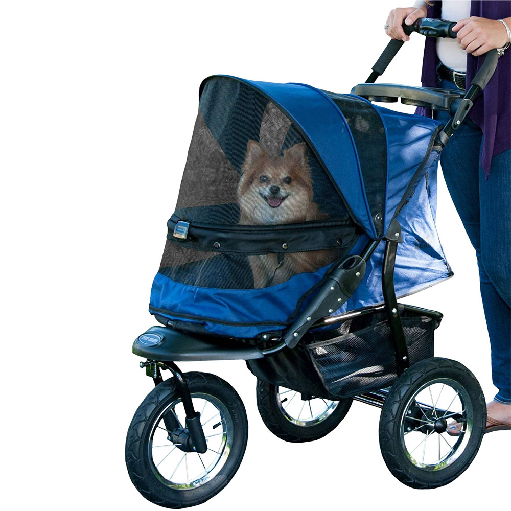 Image of Pet Gear Jogger No-Zip Stroller - Midnight River