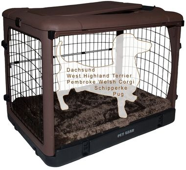 PET-GEAR-THE-OTHER-DOOR-STEEL-CRATE-WITH-PAD-36-CHOCOLATE