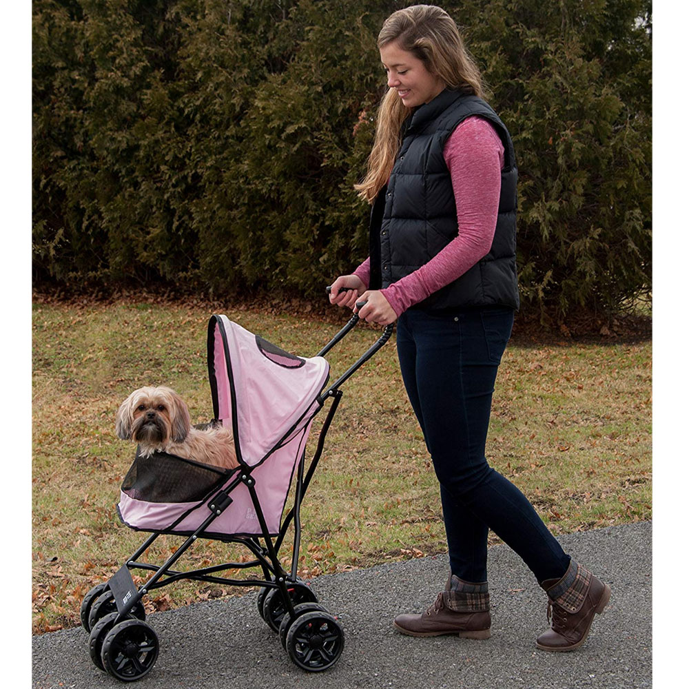 PET-GEAR-TRAVEL-LITE-STROLLER-PINK