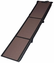 Pet Gear Travel-Lite Tri-Fold Full Ramp - Chocolate/Black