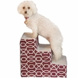 Pet Gear Trellis Print Designer Step III - Dark Cranberry
