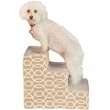 Pet Gear Trellis Print Designer Step III - Natural Beige