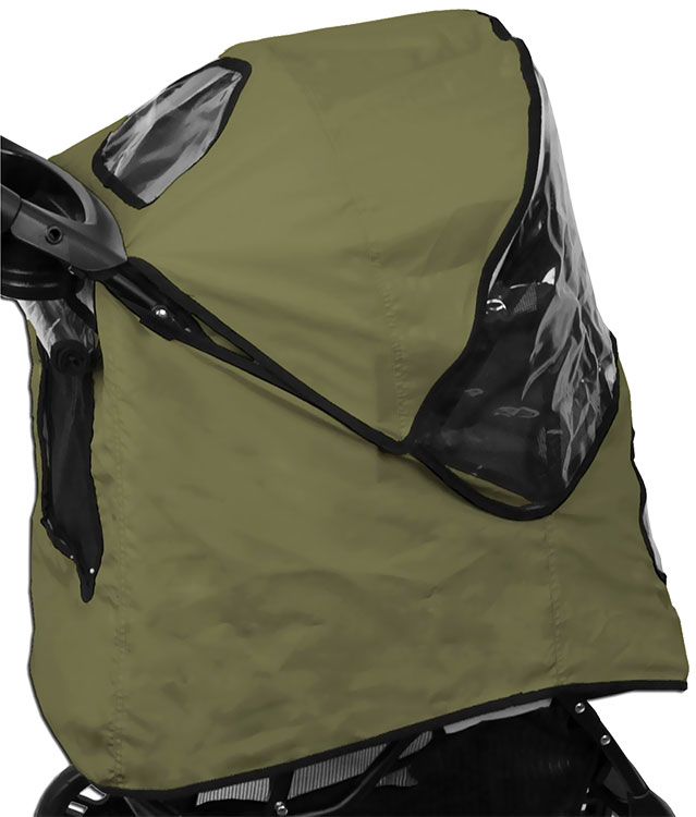 Image of Pet Gear Weather Cover for Happy Trails Stroller - Sage