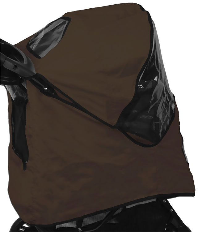 Image of Pet Gear Weather Cover for Happy Trails Stroller - Sahara