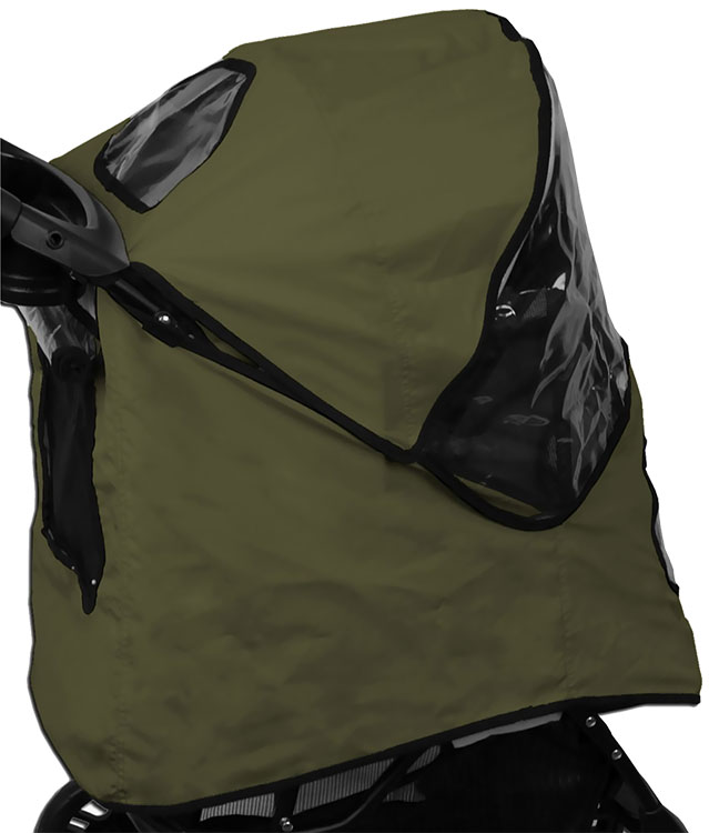 Image of Pet Gear Weather Cover for Jogger Stroller - Sage