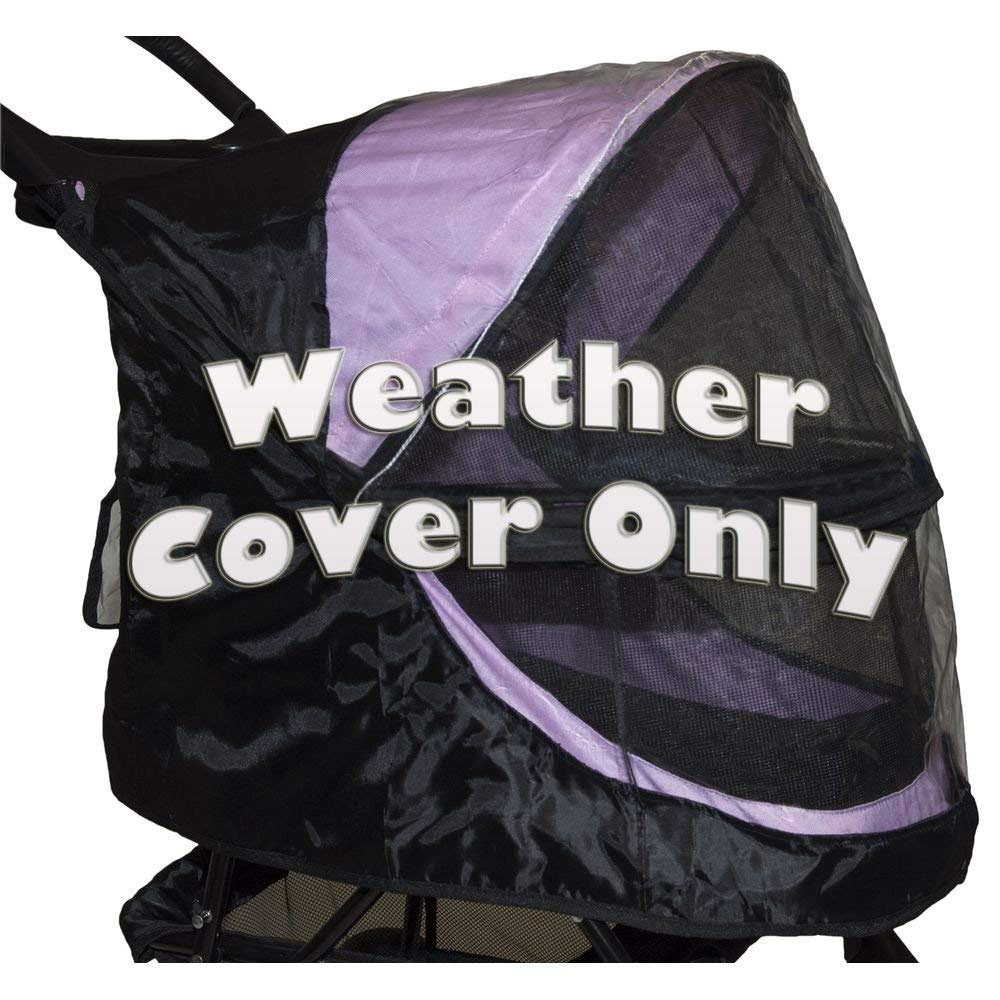 PET-GEAR-WEATHER-COVER-HAPPY-TRAILS-BLACK