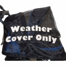 Pet Gear Weather Cover For No-Zip Jogger AT3 - Black