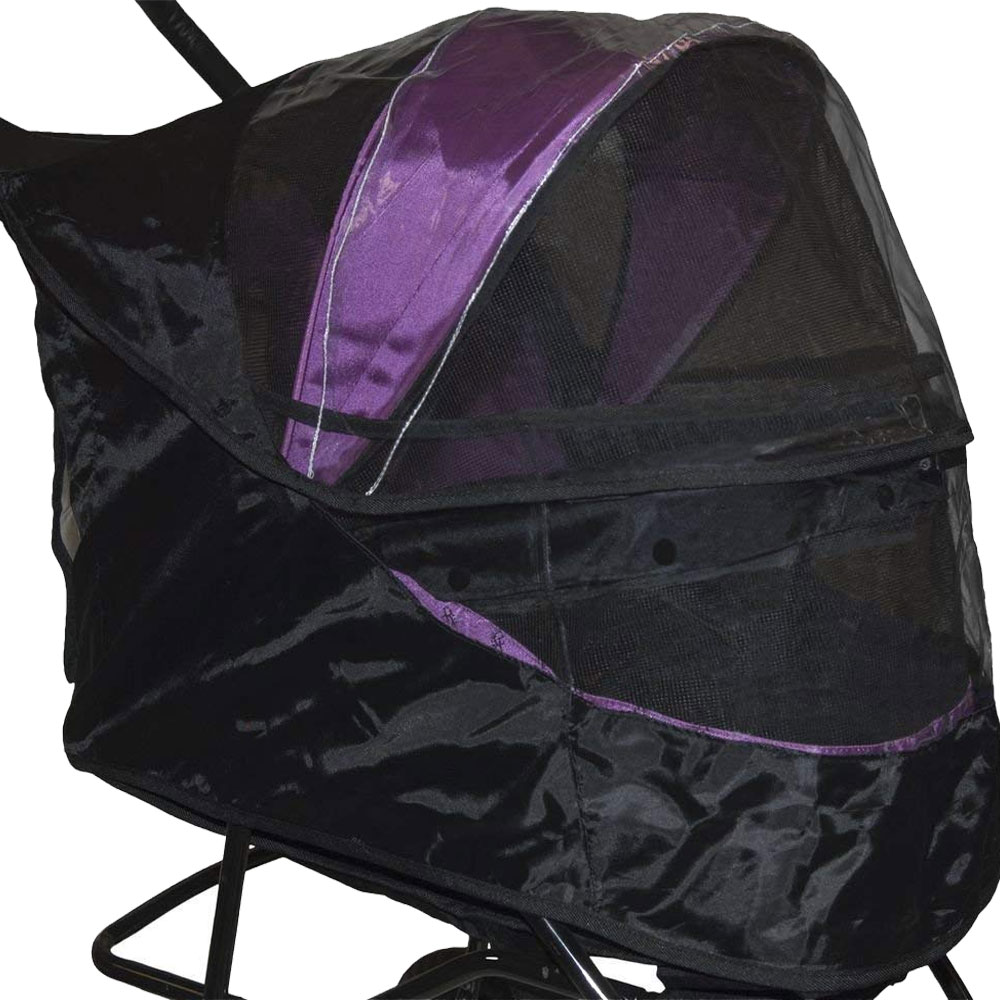 Image of Pet Gear Weather Cover For No-Zip Special Edition - Black