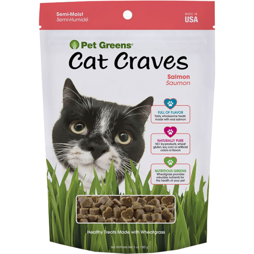 Pet Greens Semi-Moist Cat Treats Savory Salmon (3 oz) im test
