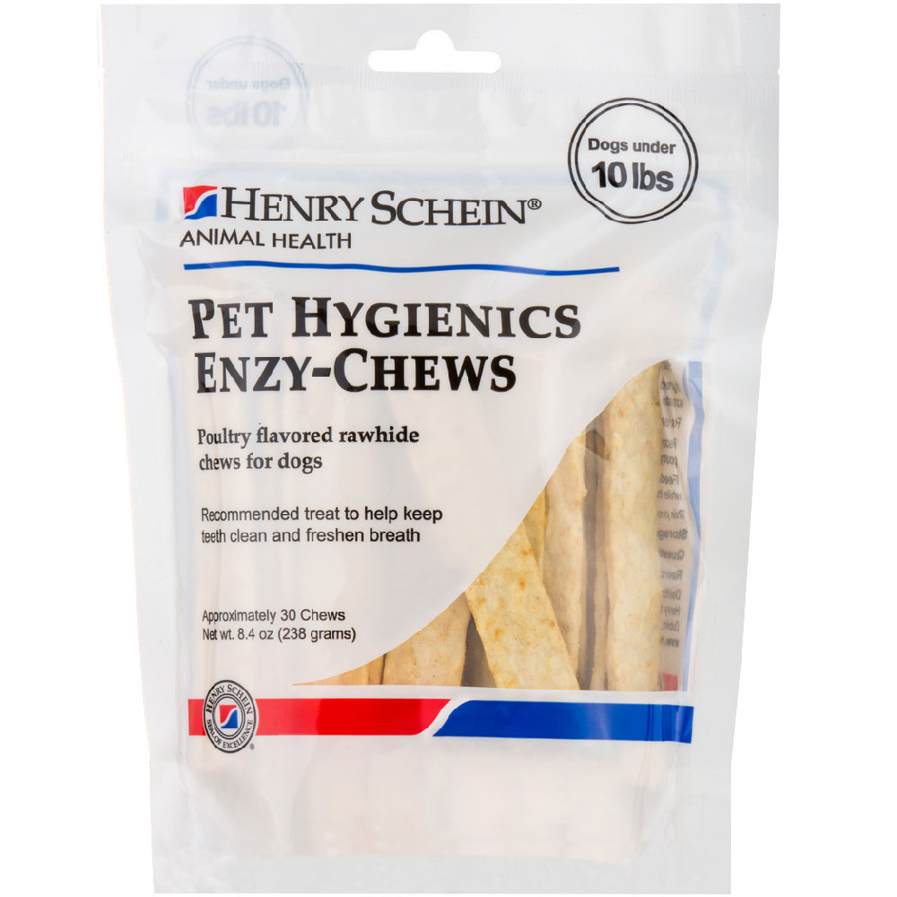 Pet Hygienics Enzy-Chews Poultry Flavored Rawhide for Dogs under 10 lb (30 count) im test