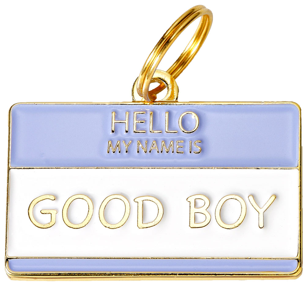 Pet ID Tag - Good Boy - For Dogs - from EntirelyPets