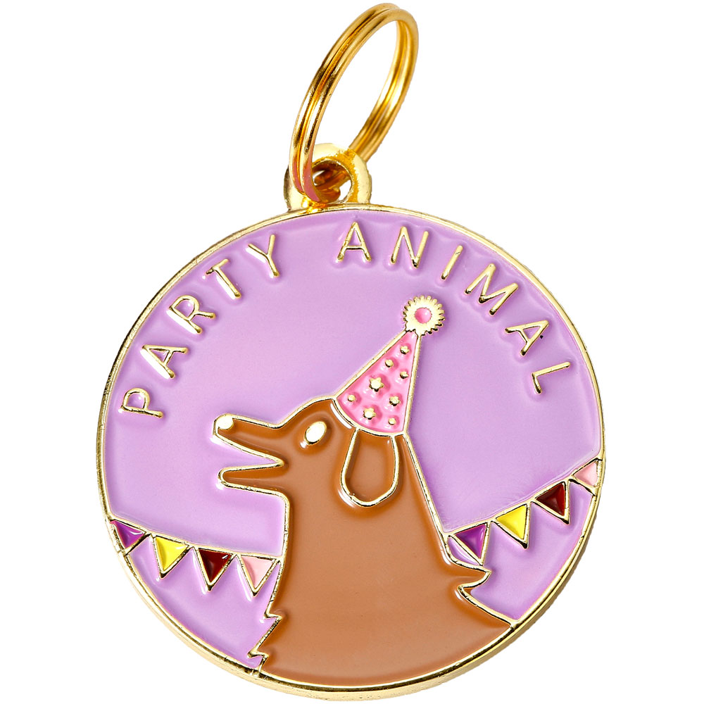 Pet ID Tag - Party Animal - For Dogs - from EntirelyPets