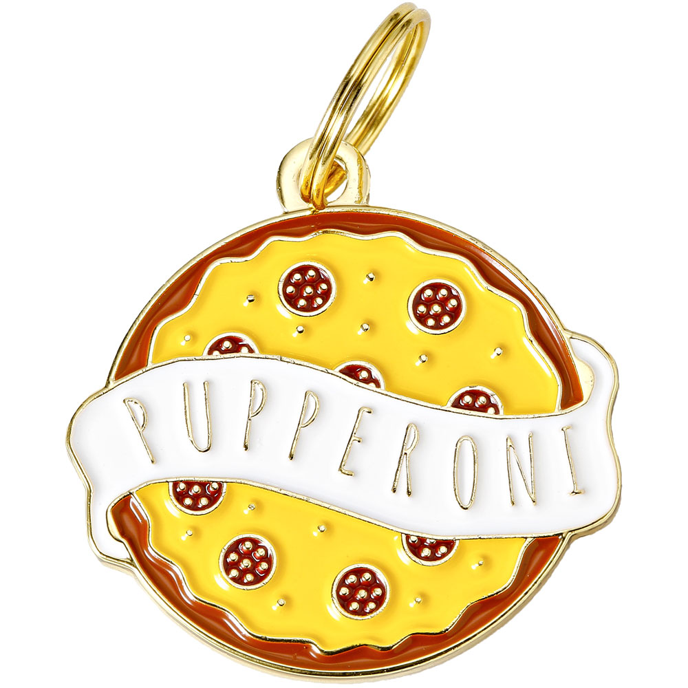 Pet ID Tag - Pupperoni - For Dogs - from EntirelyPets