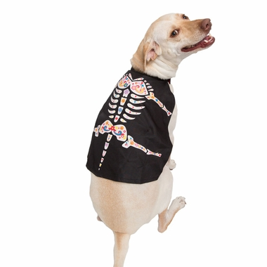 DAY-OF-THE-DEAD-DOG-CAPE-LARGE-XLARGE