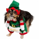 Pet Krewe Elf Dog Costume - Medium