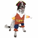 Pet Krewe Pirate Dog Costume - Large