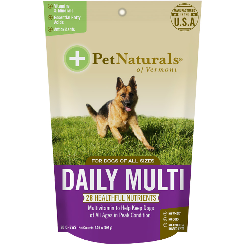 Pet Naturals Daily Multi for Dogs (30 chews) im test