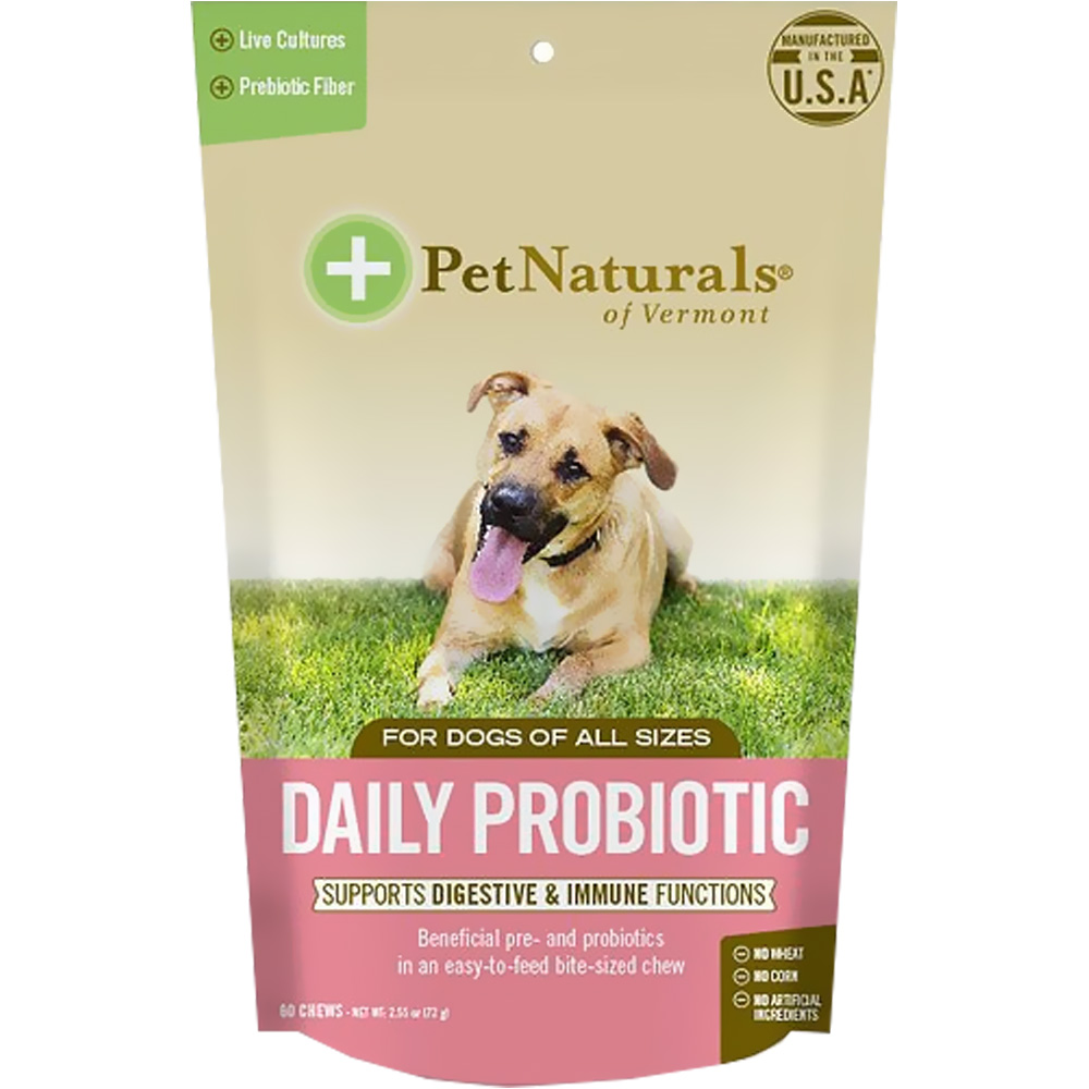 Pet Naturals Daily Probiotic for Dogs (60 chews) im test
