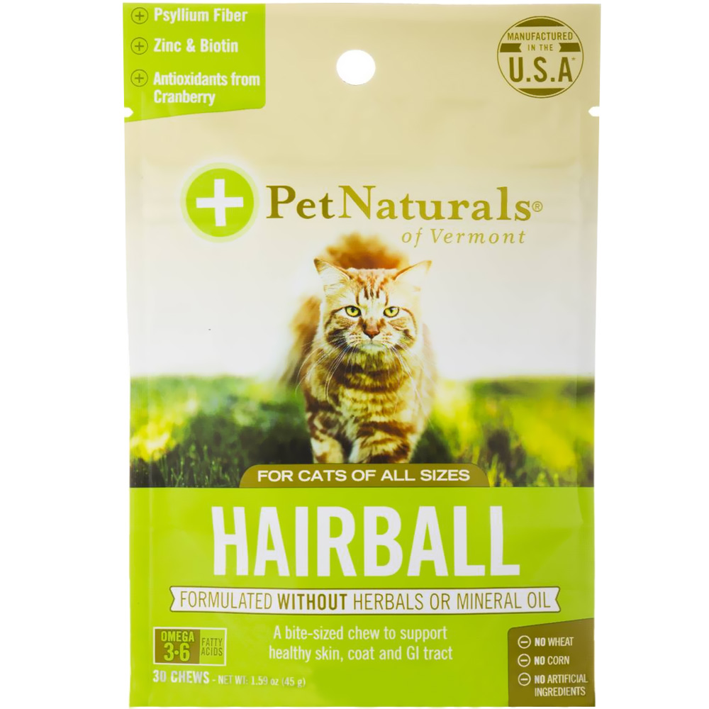 Pet Naturals Hairball for Cats (30 chews) im test