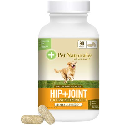 Pet Naturals Hip & Joint Extra Strength for Dogs (90 Tablets)