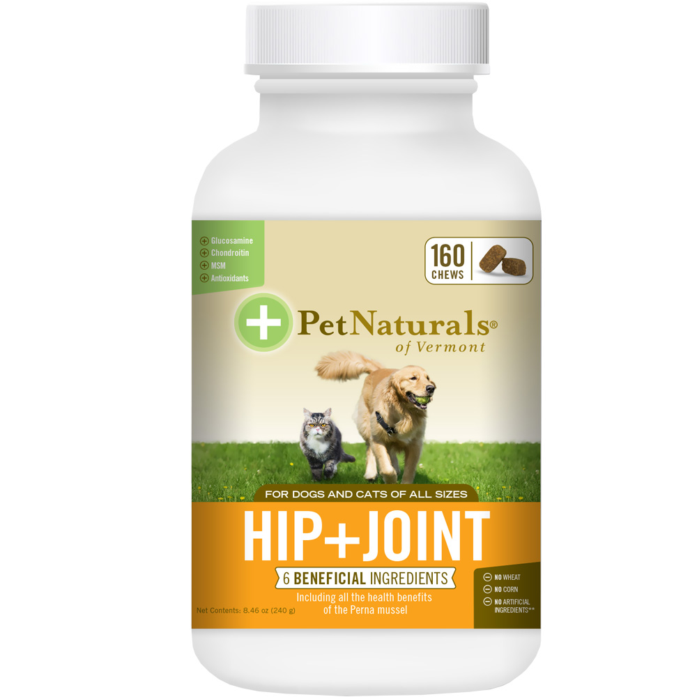 Pet Naturals Hip + Joint for Dogs & Cats (160 chews) im test