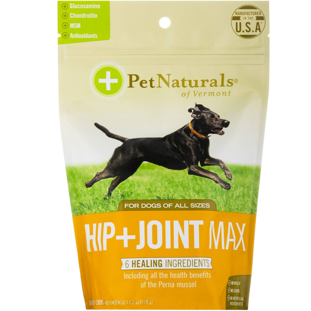Pet Naturals Hip + Joint MAX for Dogs (60 chews) im test