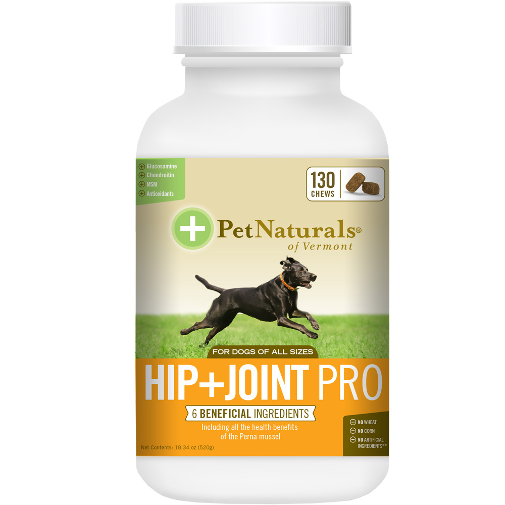 Pet Naturals Hip + Joint PRO for Dogs (130 chews) im test