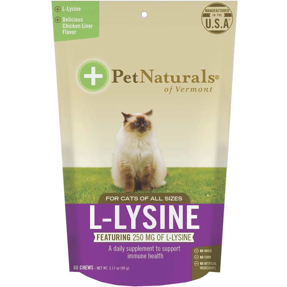 Pet Naturals L-Lysine Chews for Cats (60 count) im test