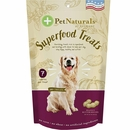 Pet Naturals of Vermont Superfood Treats for Dogs - Peanut Butter Recipe (100+ Bite-Sized Chews)