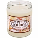 Pet Odor Exterminator Candle - Creamy Vanilla Jar (13 oz)
