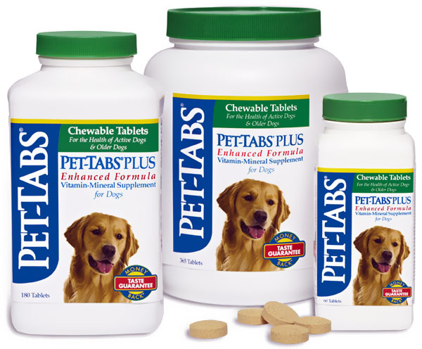 Pet-Tabs and Pet-Tabs Plus