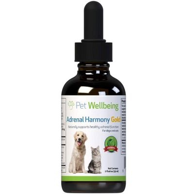 PET-WELLBEING-ADRENAL-HARMONY-GOLD-DOG-SUPPLEMENT-2OZ