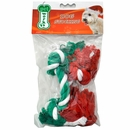 """Pet Works Holiday Cotton Rope 10"""" (2 pack)"""