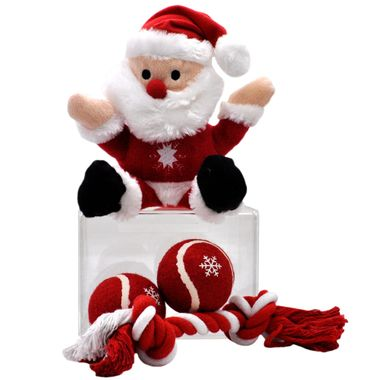 PET-WORKS-HOLIDAY-STOCKING-SET-SANTA-CLAUS-4-PACK