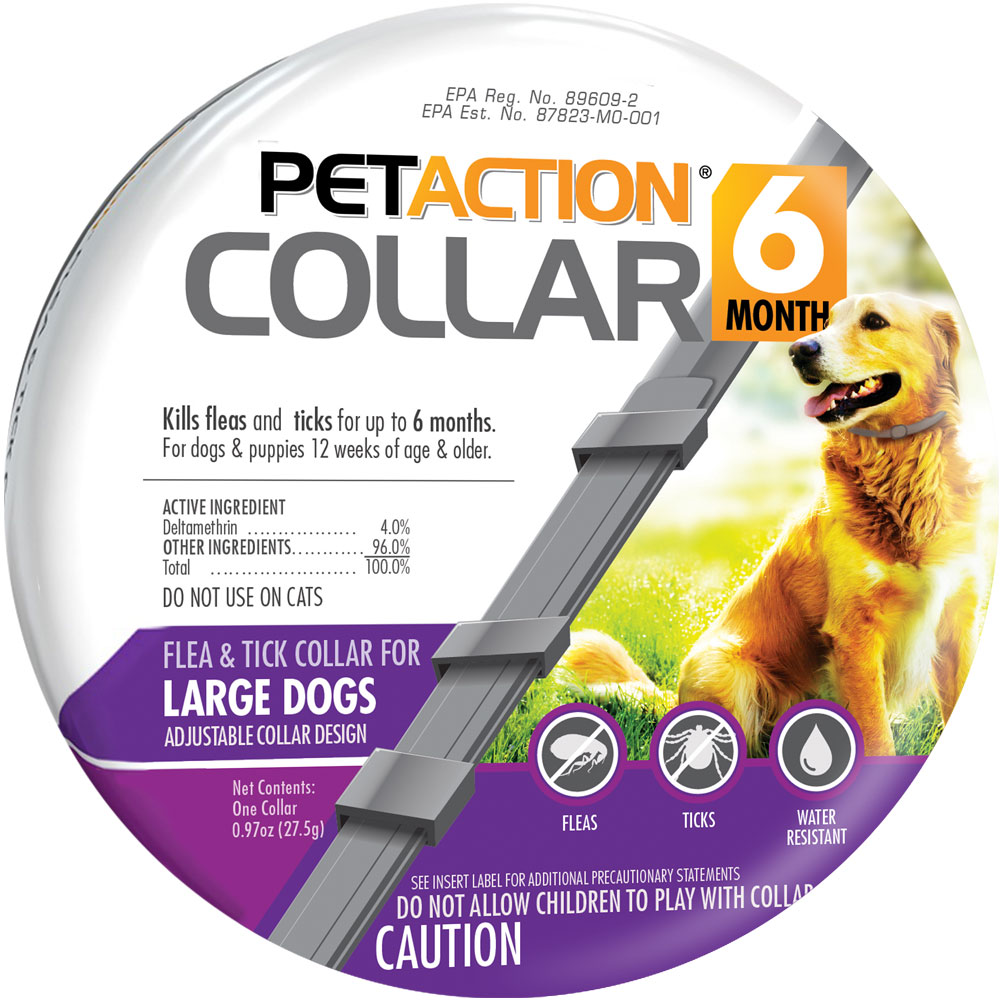 PetAction Flea & Tick Collar for Large Dogs im test