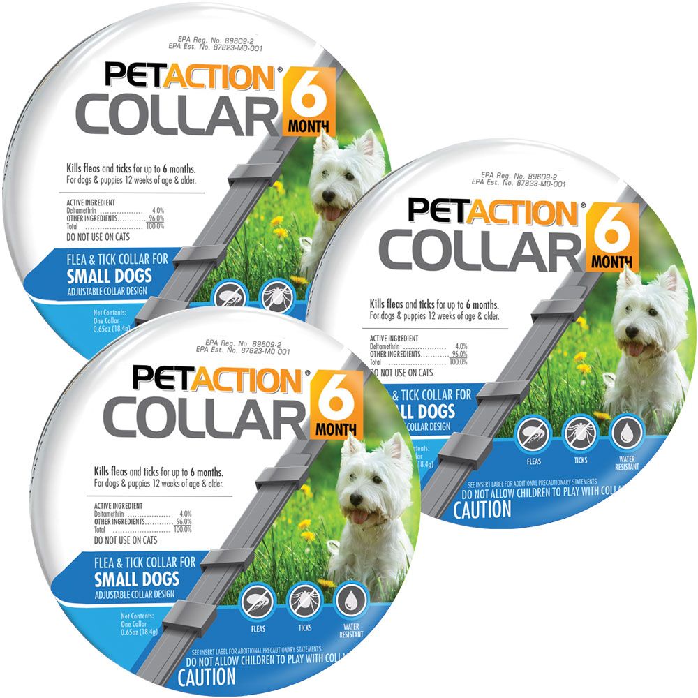 PetAction Flea & Tick Collar for Small Dogs (3-PACK) im test