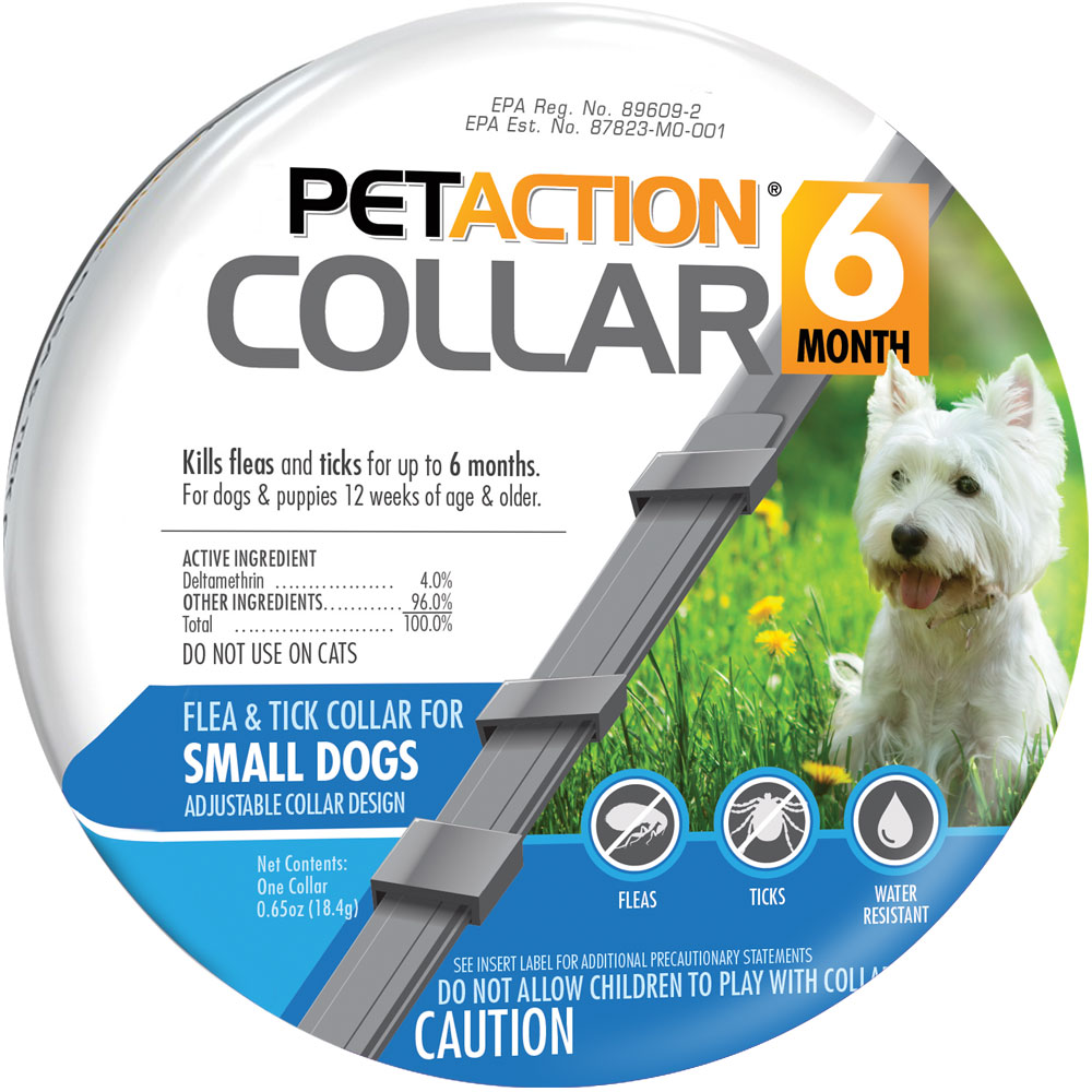 PetAction Flea & Tick Collar for Small Dogs im test